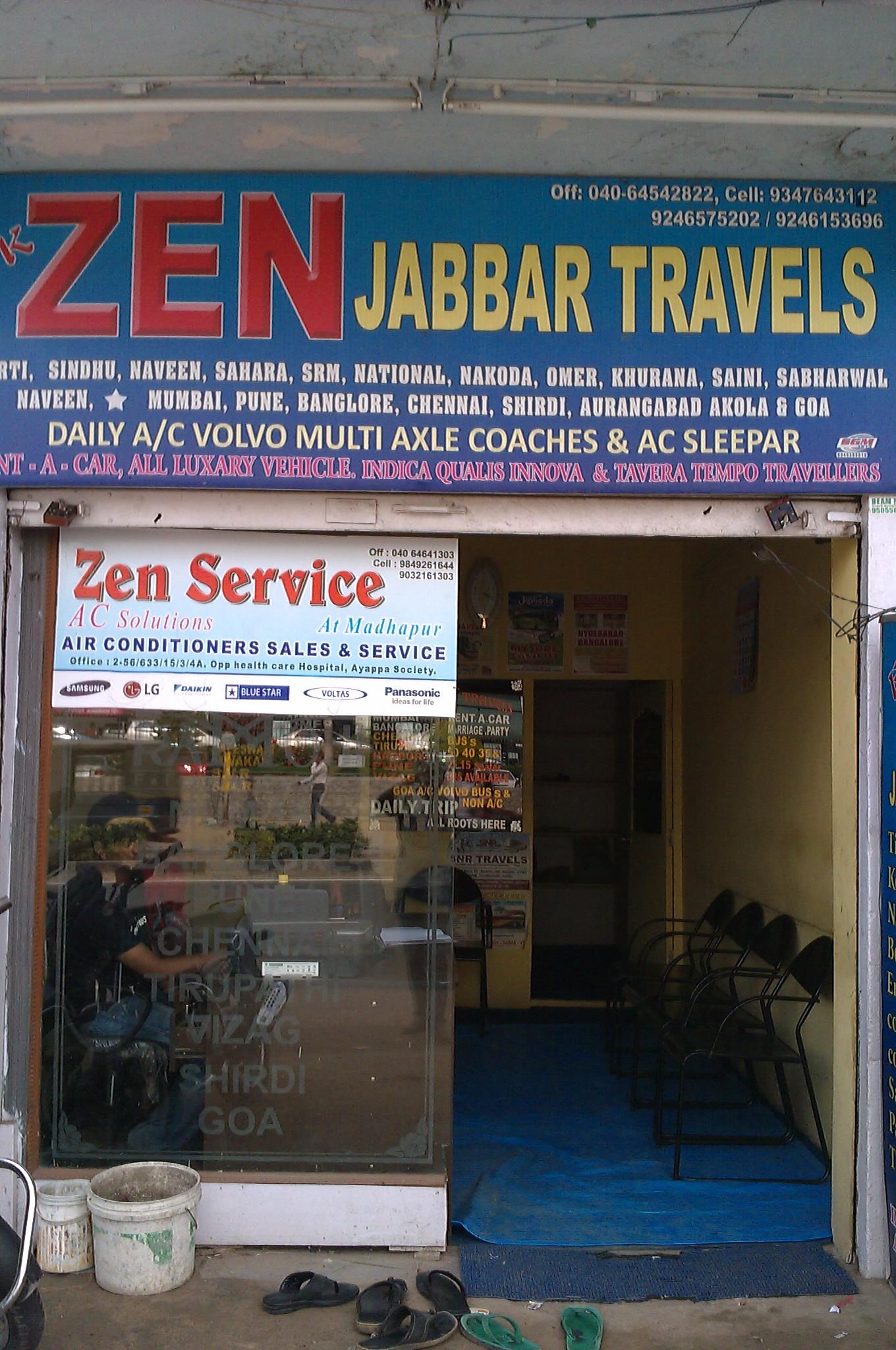 Zen Jabbar Tours & Travels