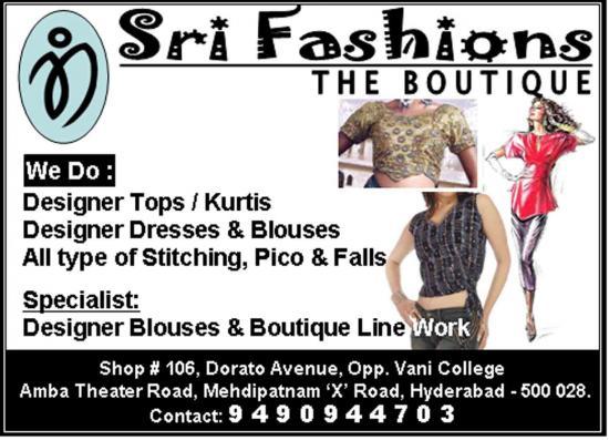 Sri Fashions - The Boutique
