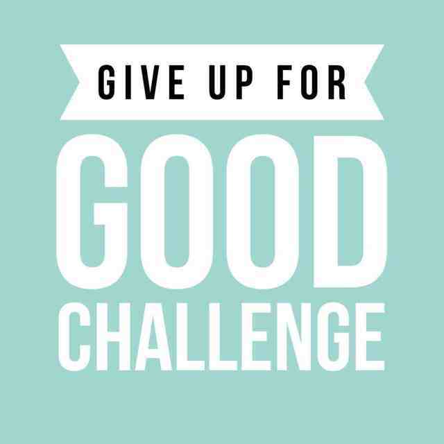 Give Up For Good Challenge
