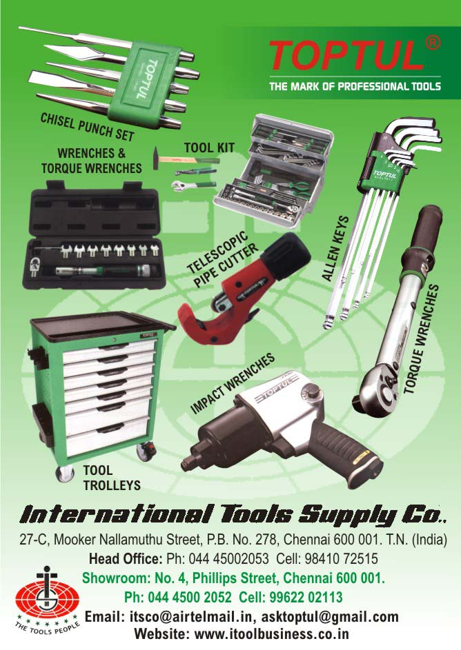 INTERNATIONAL TOOLS SUPPLY CO