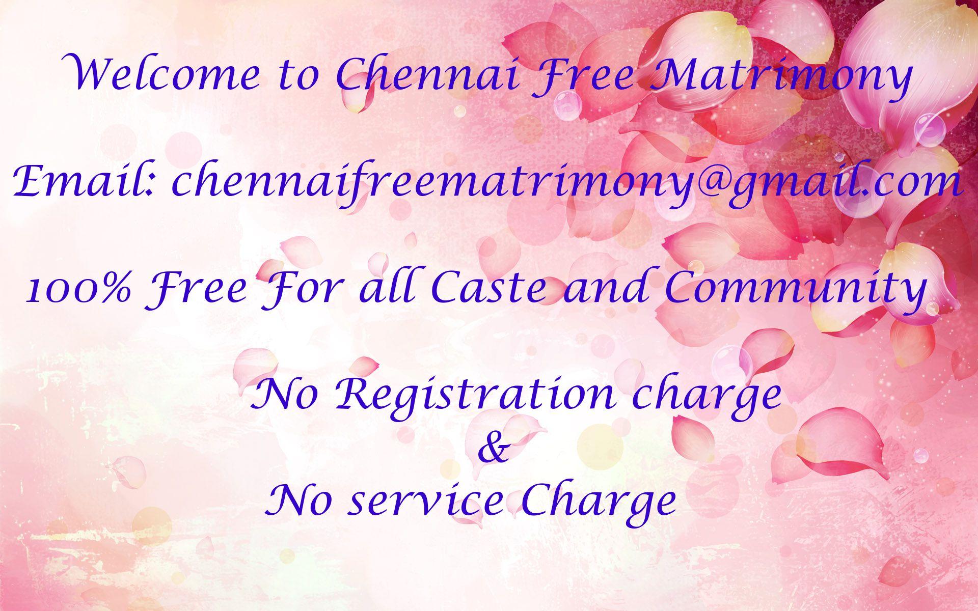 Chennai Free Matrimony