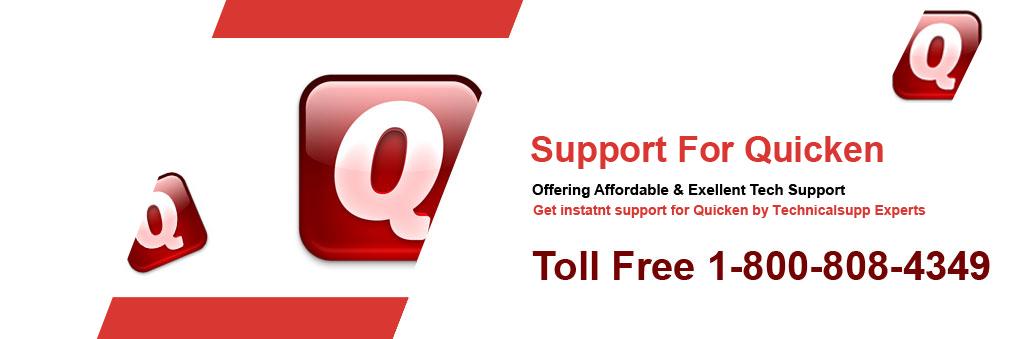 Support For Quicken Tollfree - 800-808-4349