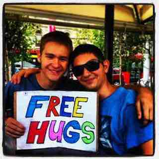 Free Hugs Sydney