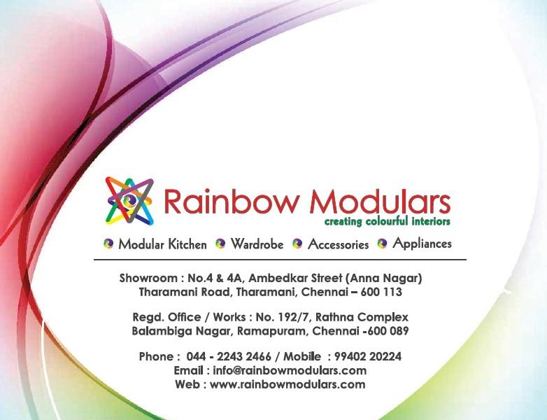 Rainbow Modulars-Creating Colourful Interiors