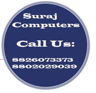 Suraj Computers @ 08826073373 | Laptop Repair | Computer Repair