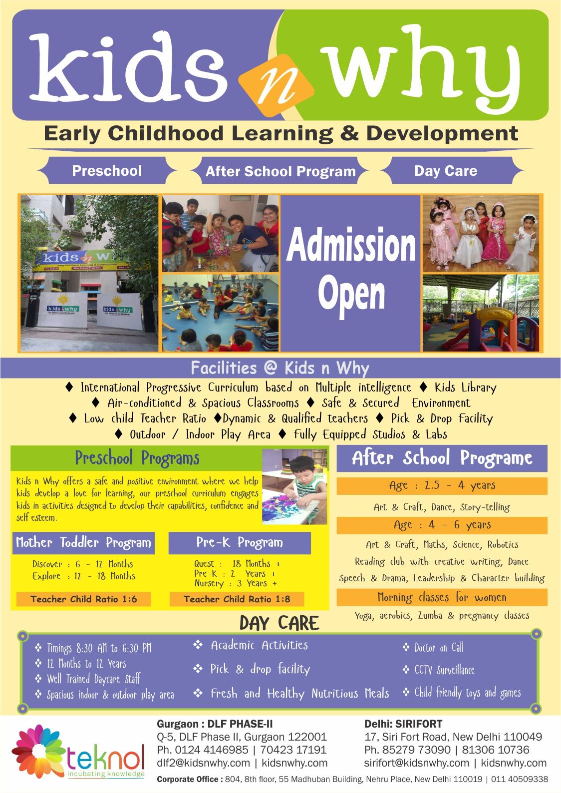 Kids n Why DLF Gurgaon