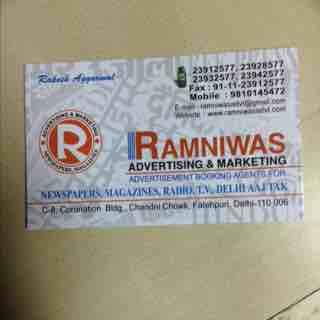 Ramniwas Advertising & Marketing