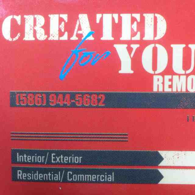 Created For You Remodeling LLC