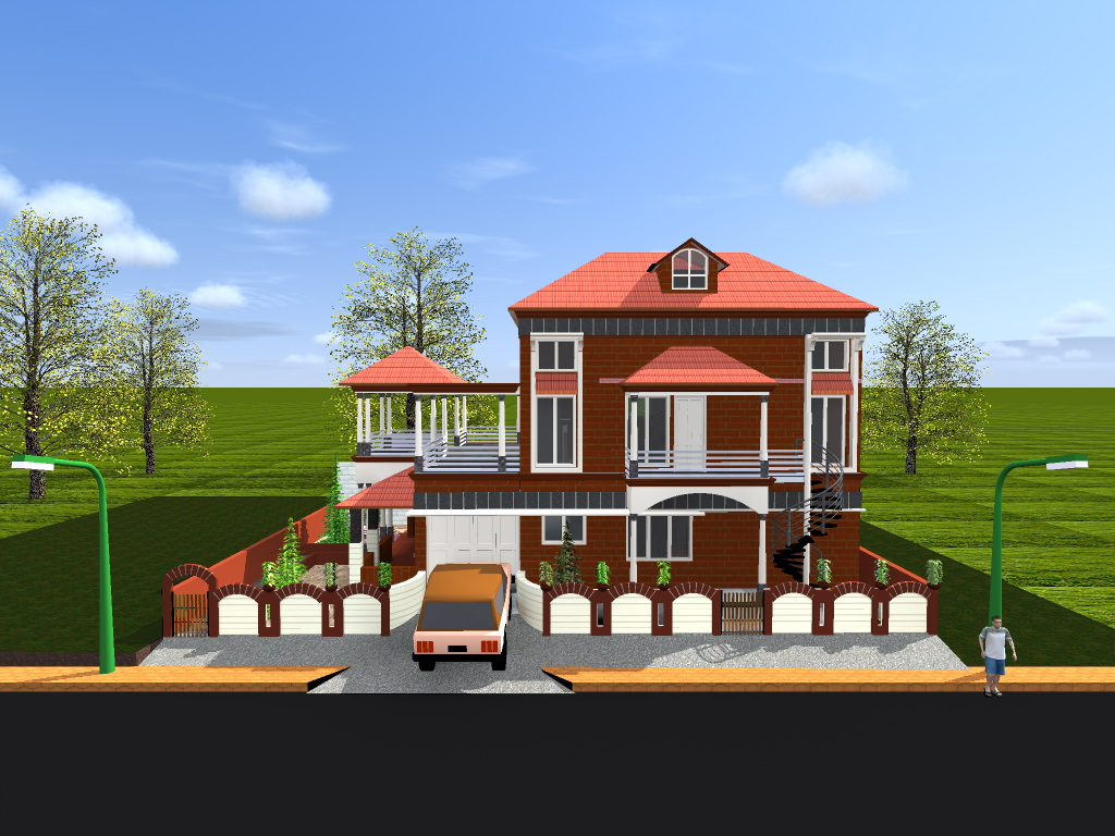 "3-D ARCHITECTURAL VISUALISATION AND CONSTRUCTION ""SURAJ CREATIONS"""