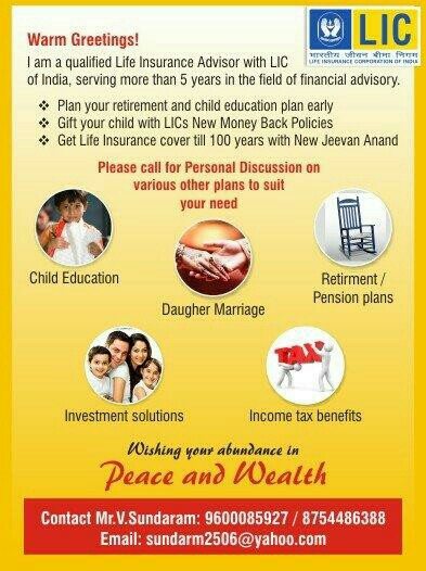 Insurance / Investment Consultant