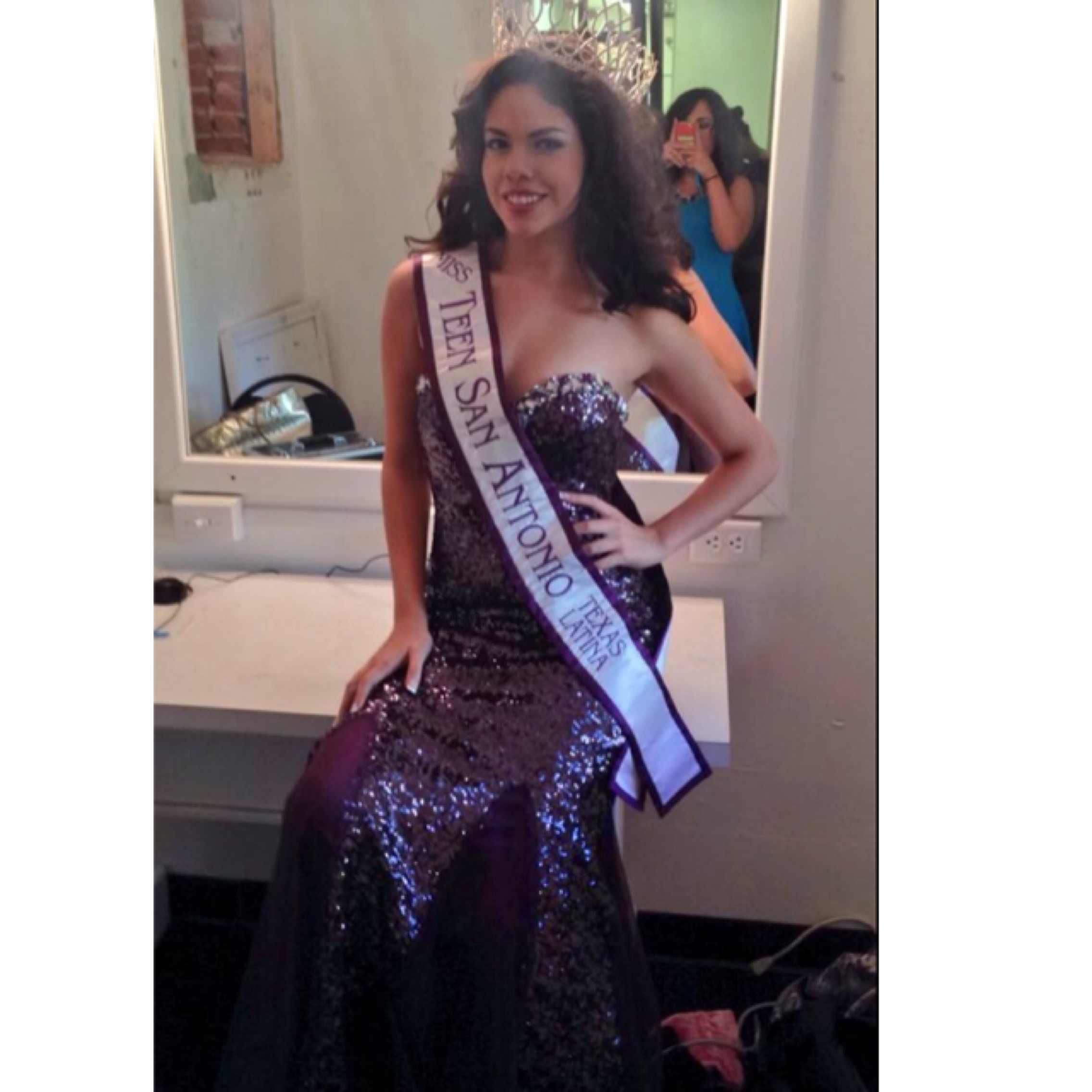 Miss San Antonio Latina 2014 XIMENA RAMIREZ