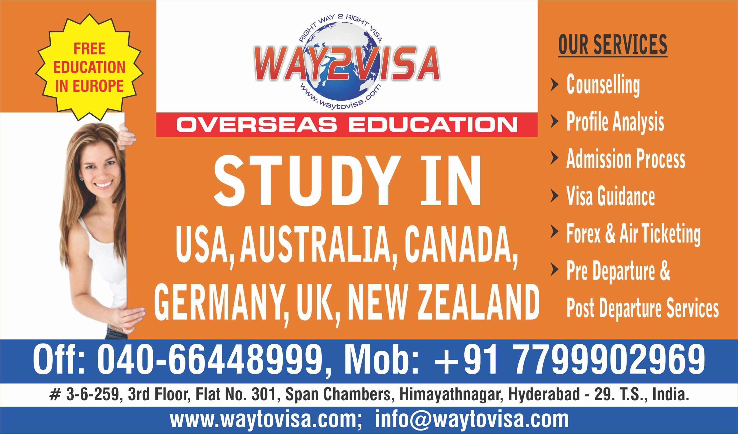 WAY 2 VISA CONSULTING INDIA PVT.LTD