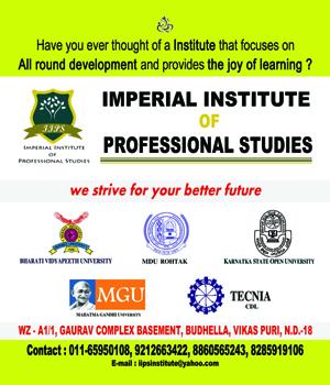 Imperial Institute Of Professional Studies
