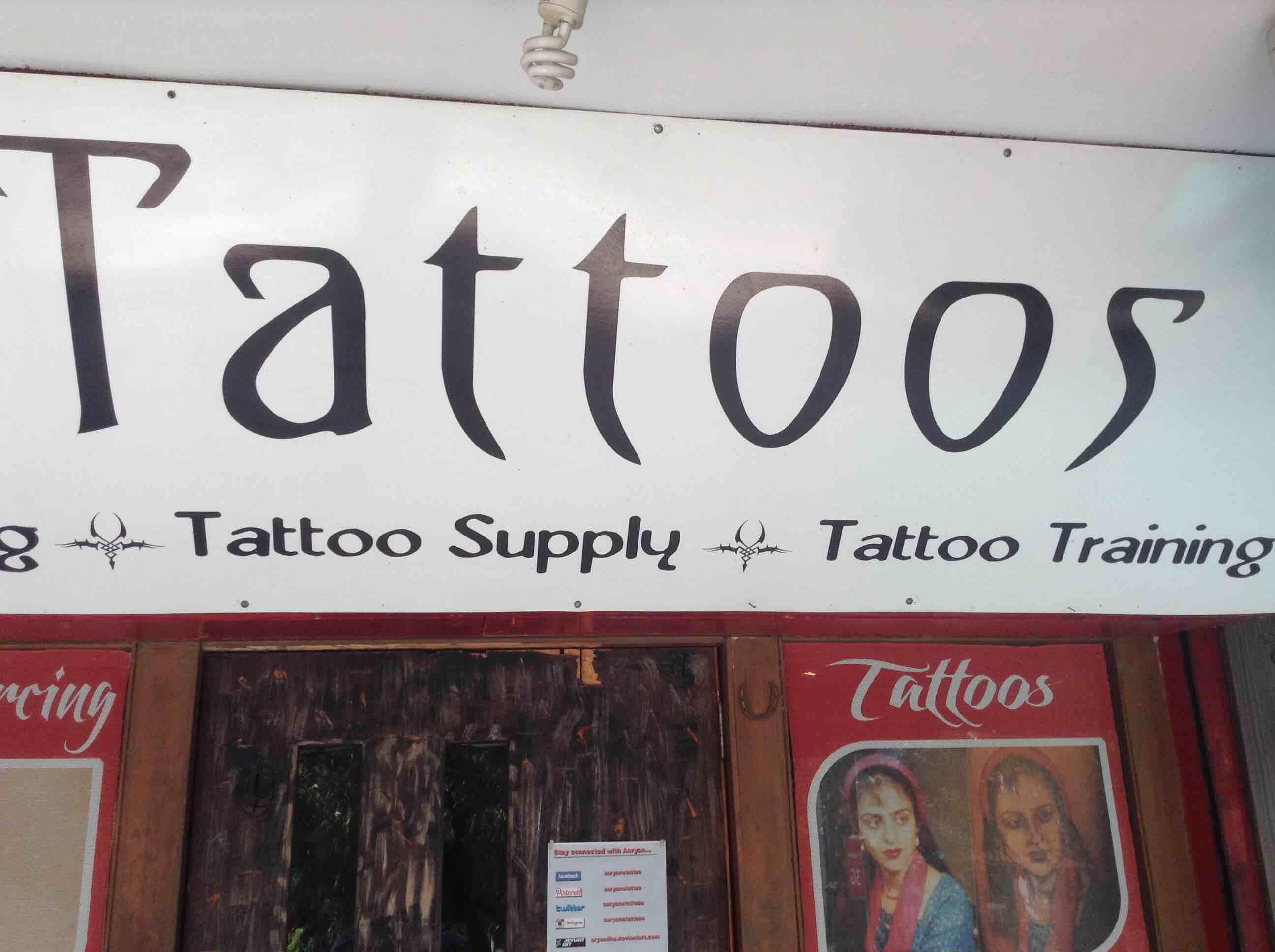 Aaryans Tattoos