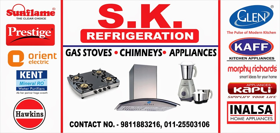 CHEAPEST GAS STOVES, CHIMNEYS, APPLIANCES  IN DELHI