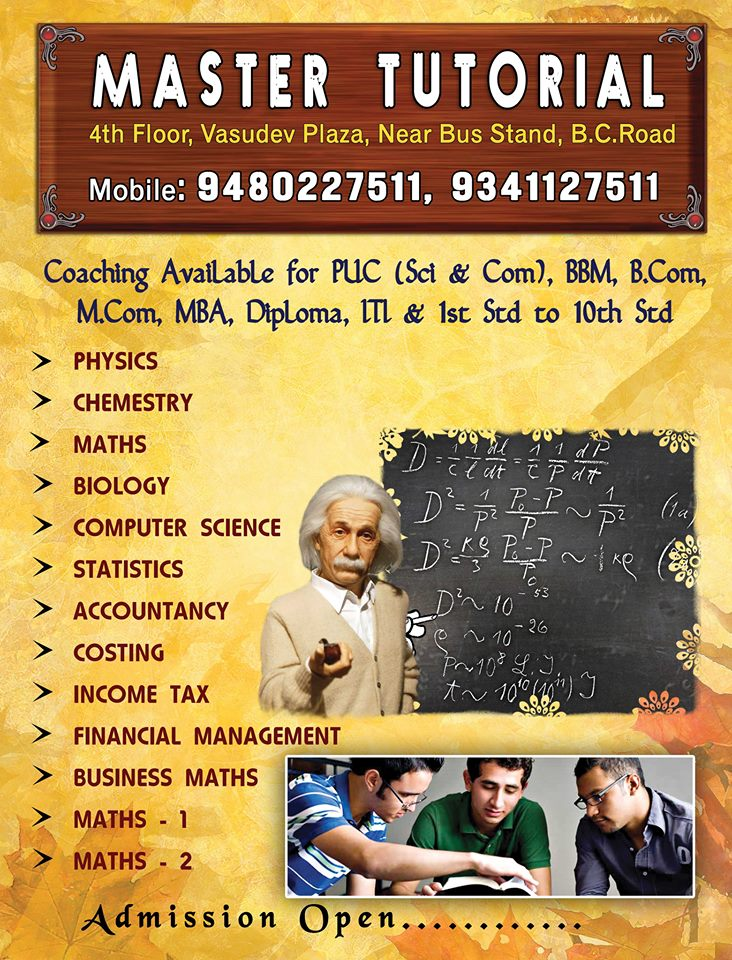 Master Tutorial College