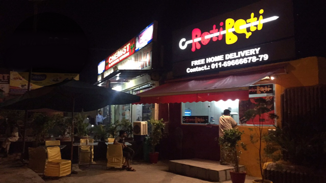 Roti Boti Restaurant| Vasant Kunj South Delhi | 8527166117