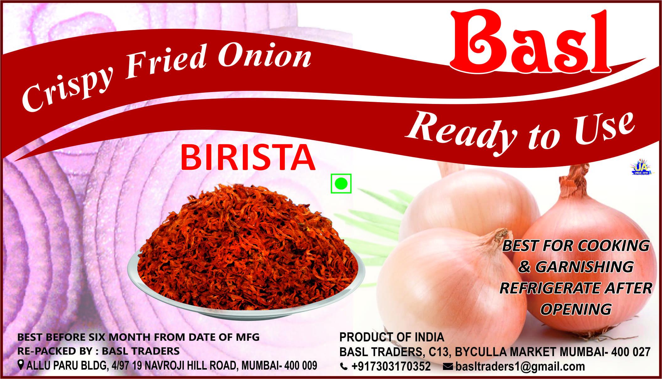 BIRISTA FRESH FRIED ONION