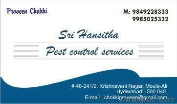 Hansitha Pest Controls