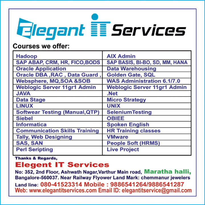 Elegant It Services 9886541264