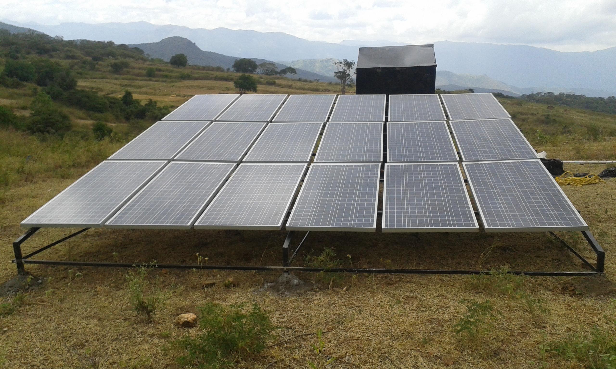 Sunfarm solar energy