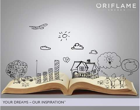 beauty with oriflame