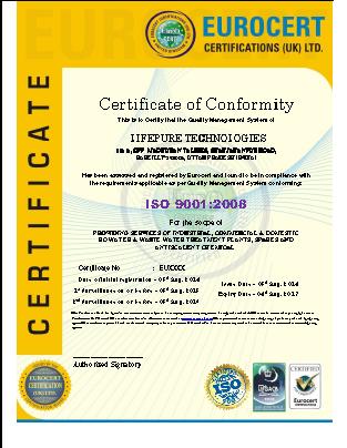 Lifepure Technologies    (Alkaline Antioxidant Water Purifier)