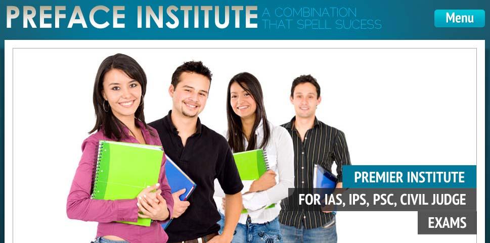 Preface IAS Institute