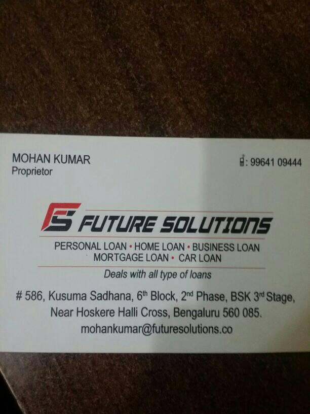 Future Solutions
