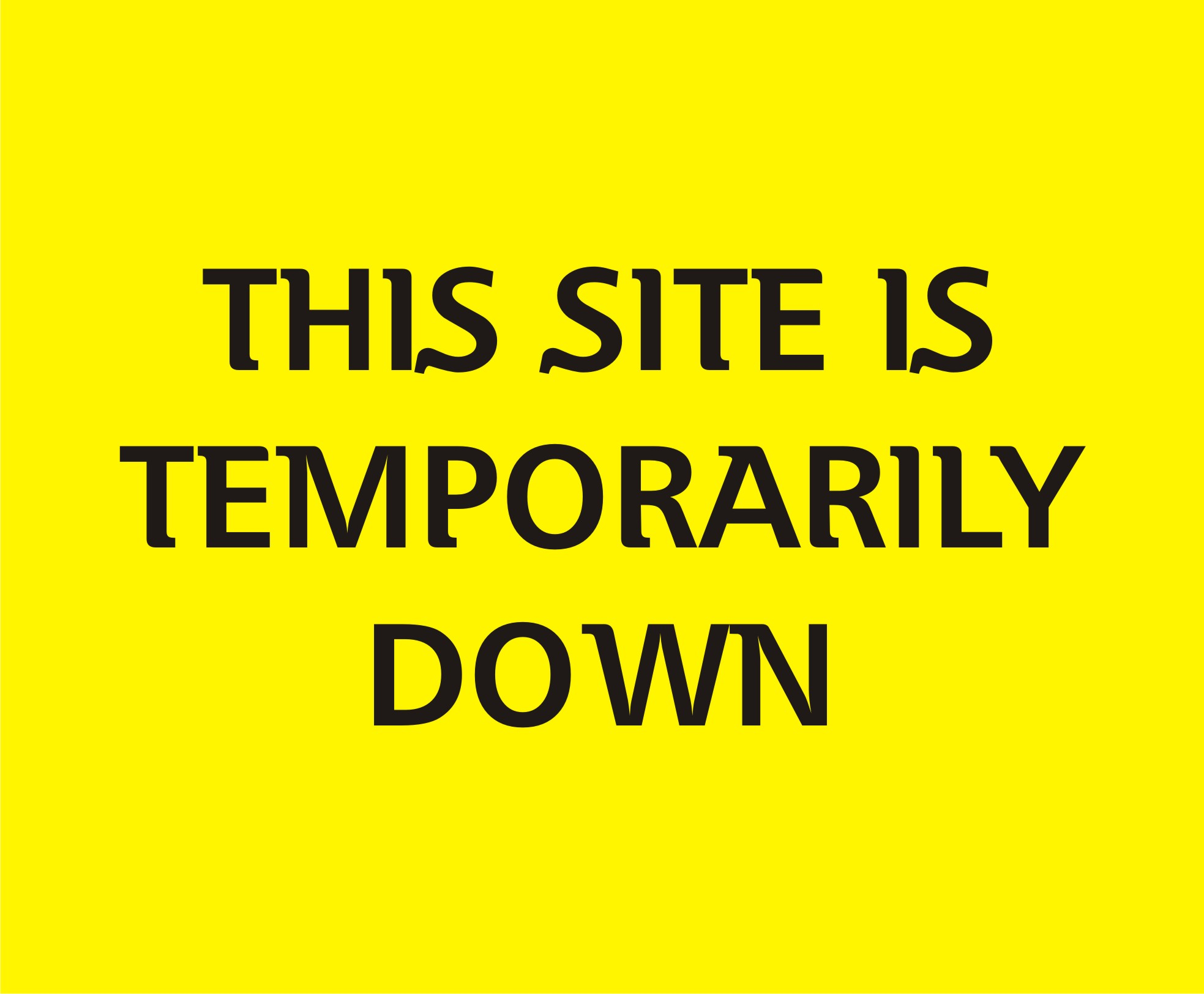 Site down