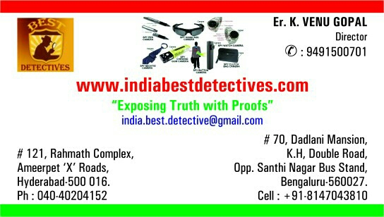 India Best Detectives