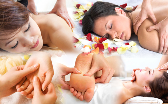 relaxed body massage