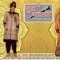Sherwani on rent