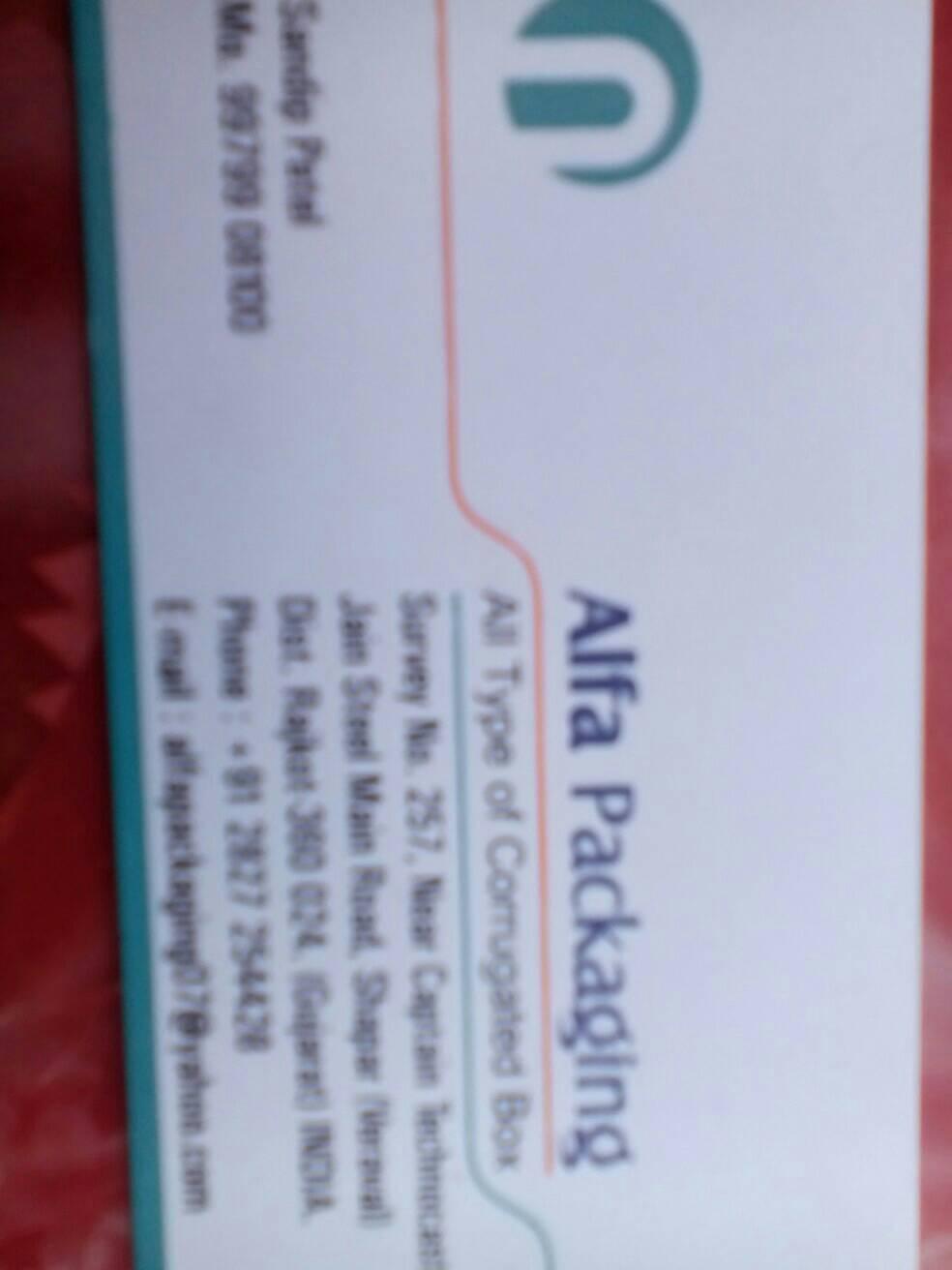 Alfa Packaging