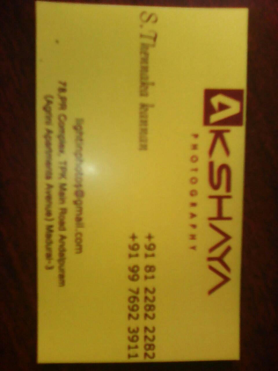 Akshaya Photography