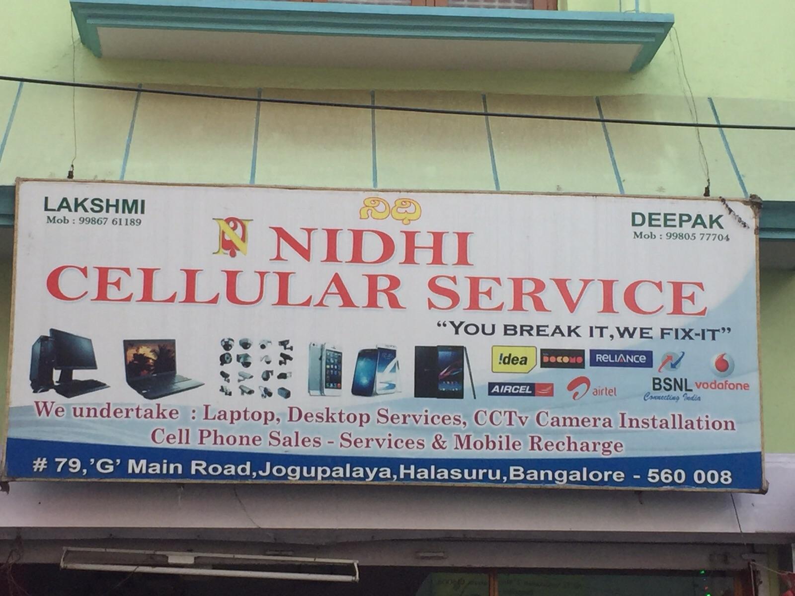 Nidhi Cellular Services