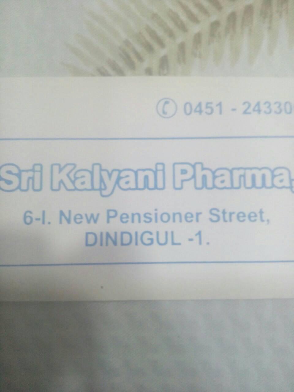 Sri Kalyani Pharma 04512433007