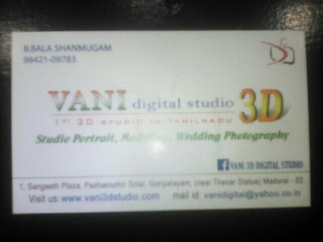 Vani 3D Studio