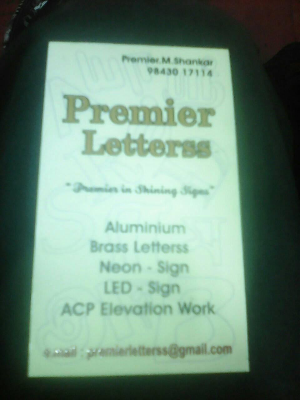 Premier Letters