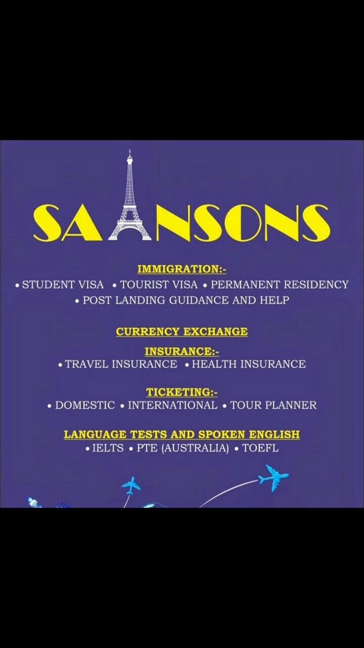 Sainsons Immigration Services( P) Ltd