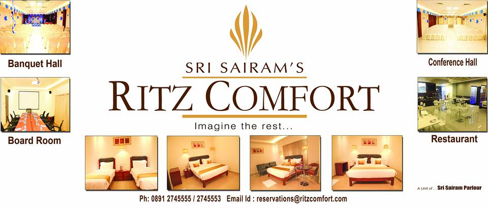 RITZ COMFORT | Banquet Halls | Conference Rooms | Vizag