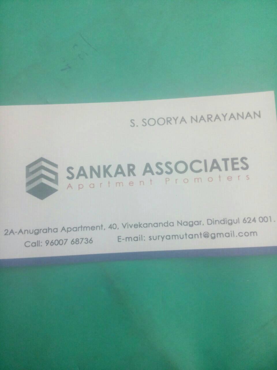 Sankar Associates 9600768736