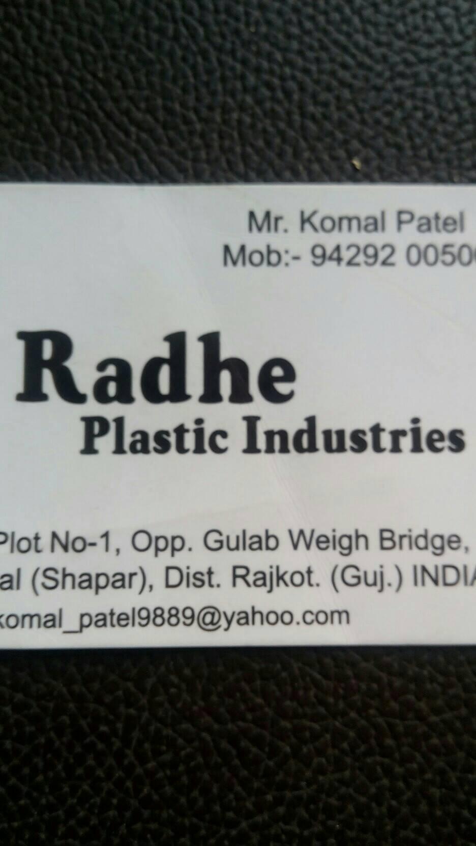 Radhe Plastic Industries