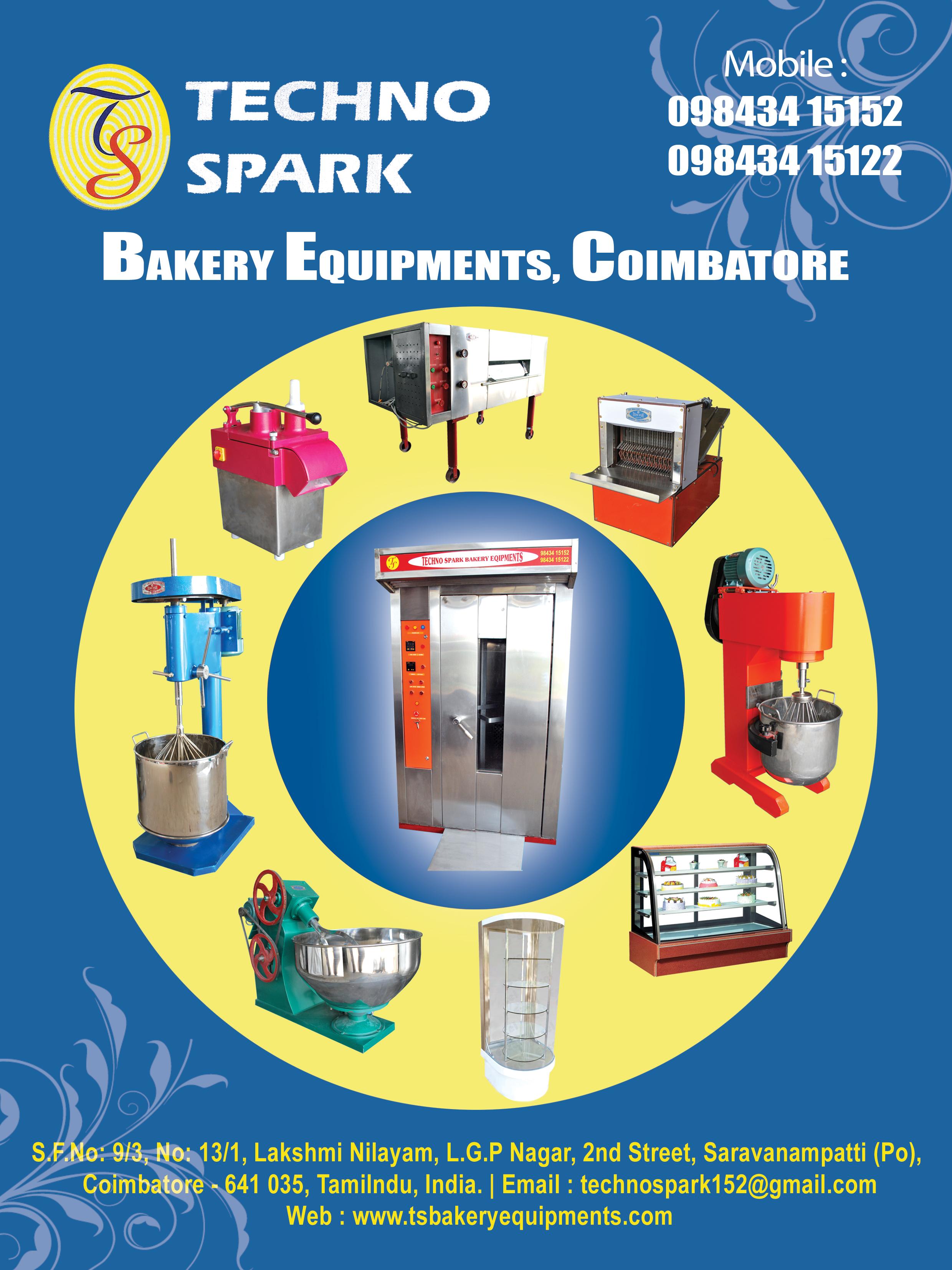 Techno Spark Bakery Equipments