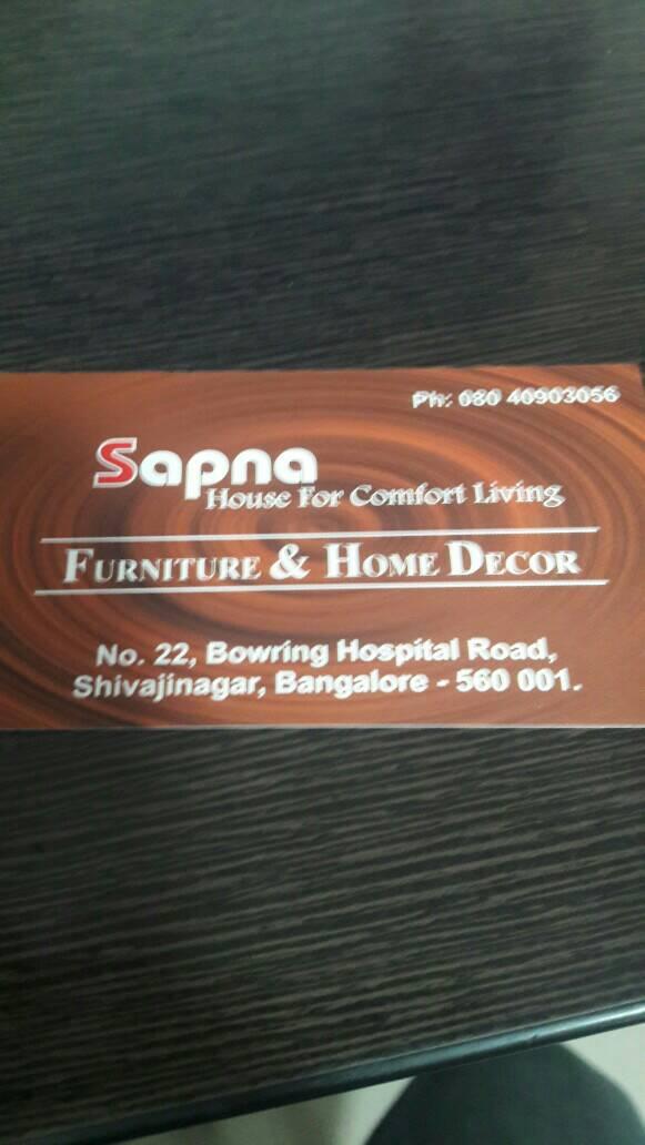 Sapna Furniture And Home Decor