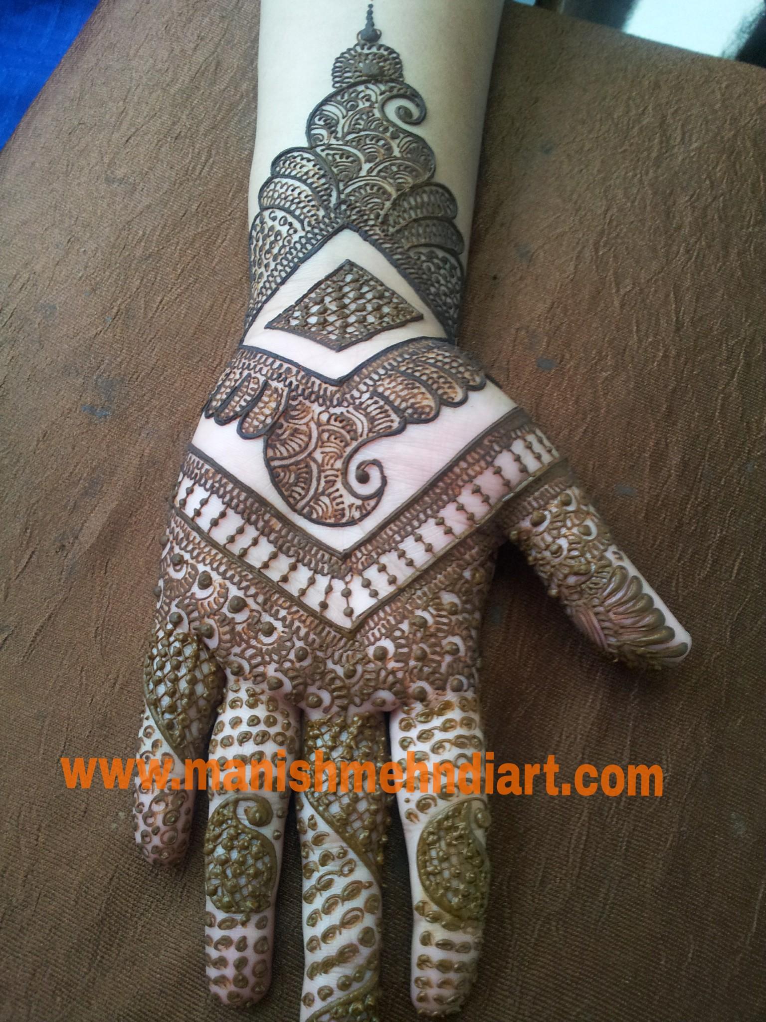 Manish Mehndi Art