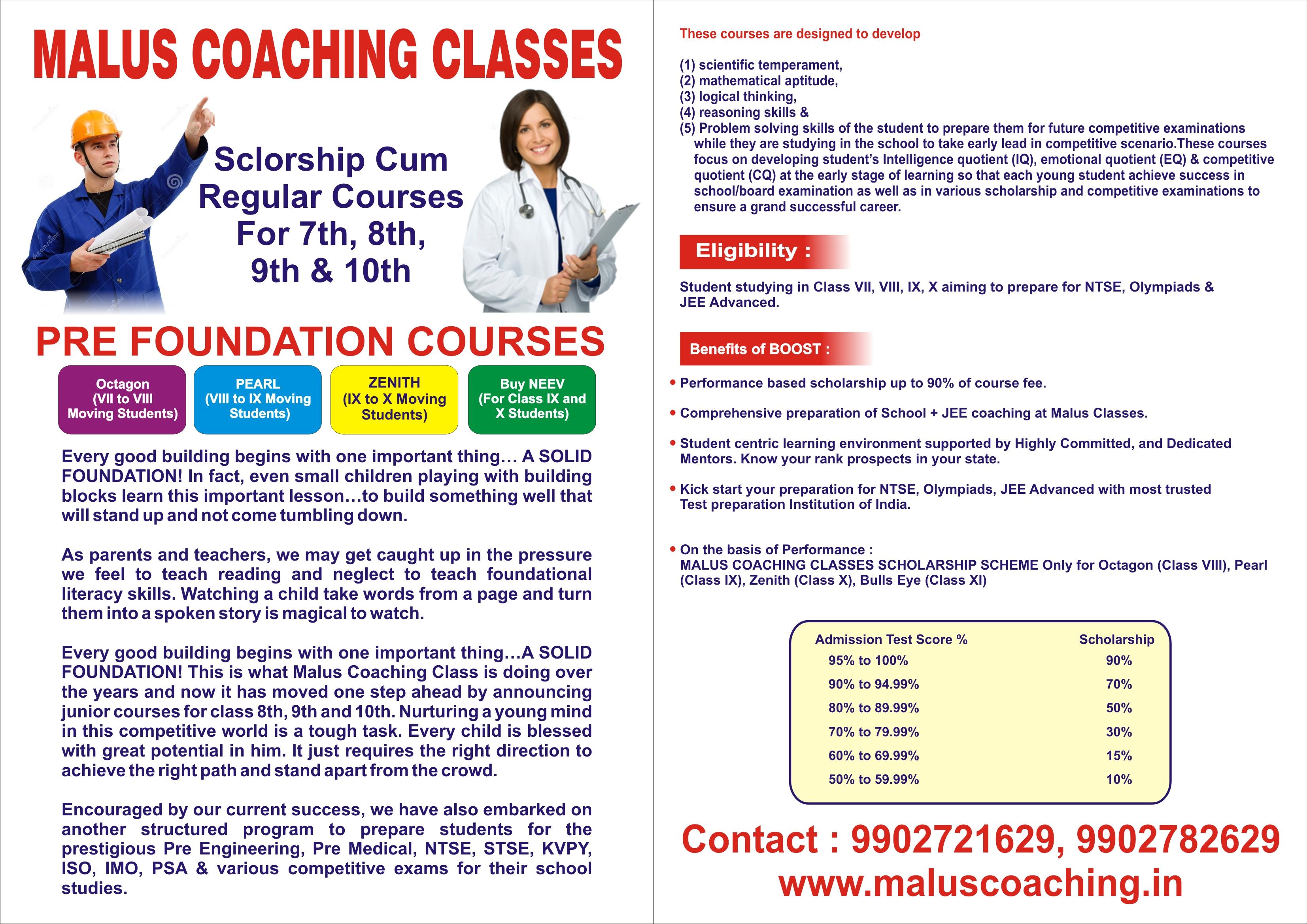 Malus Coaching Classes