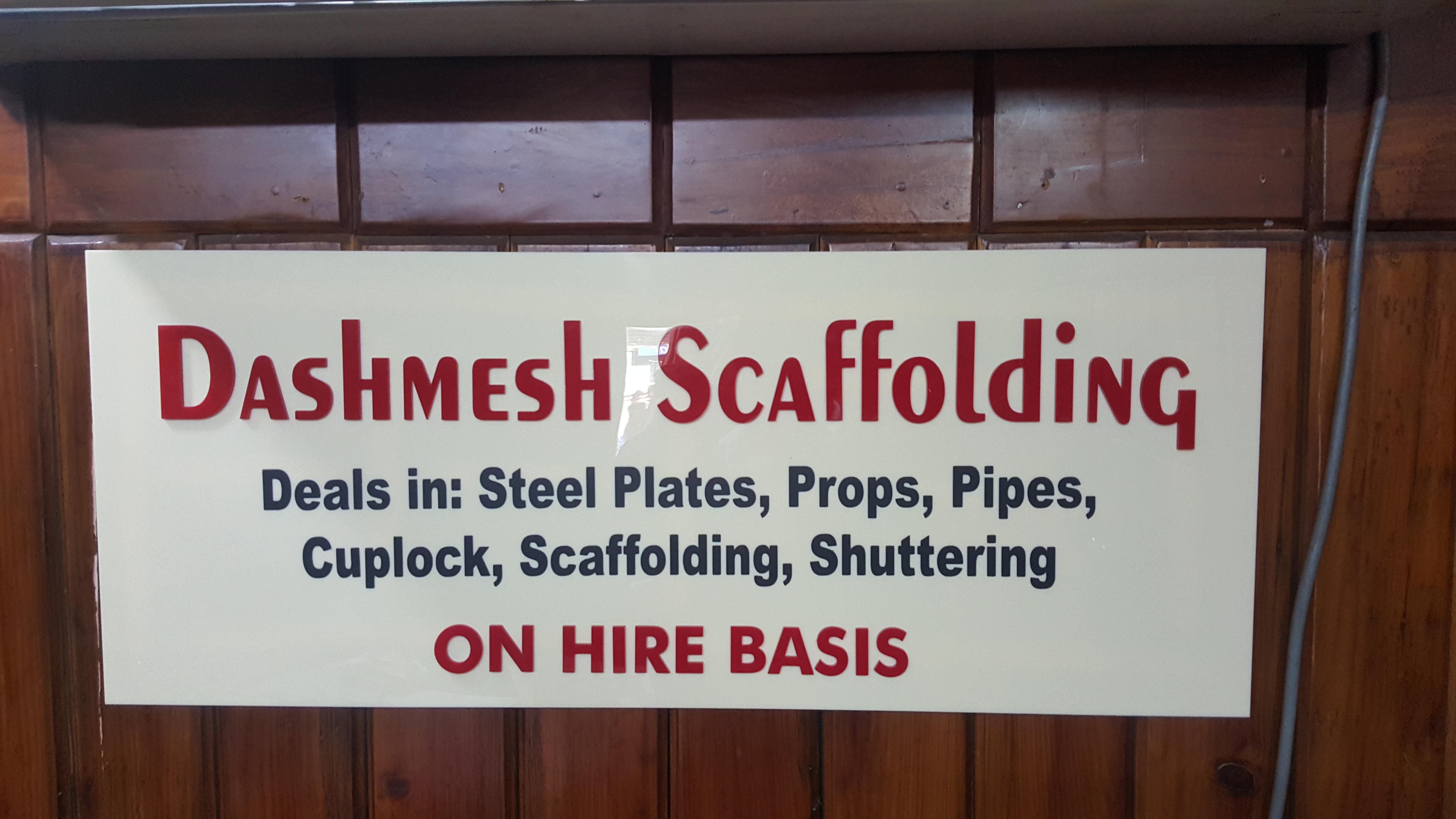 Dashmesh Scaffolding
