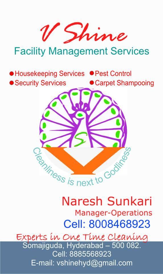 V Shine Facility Management services