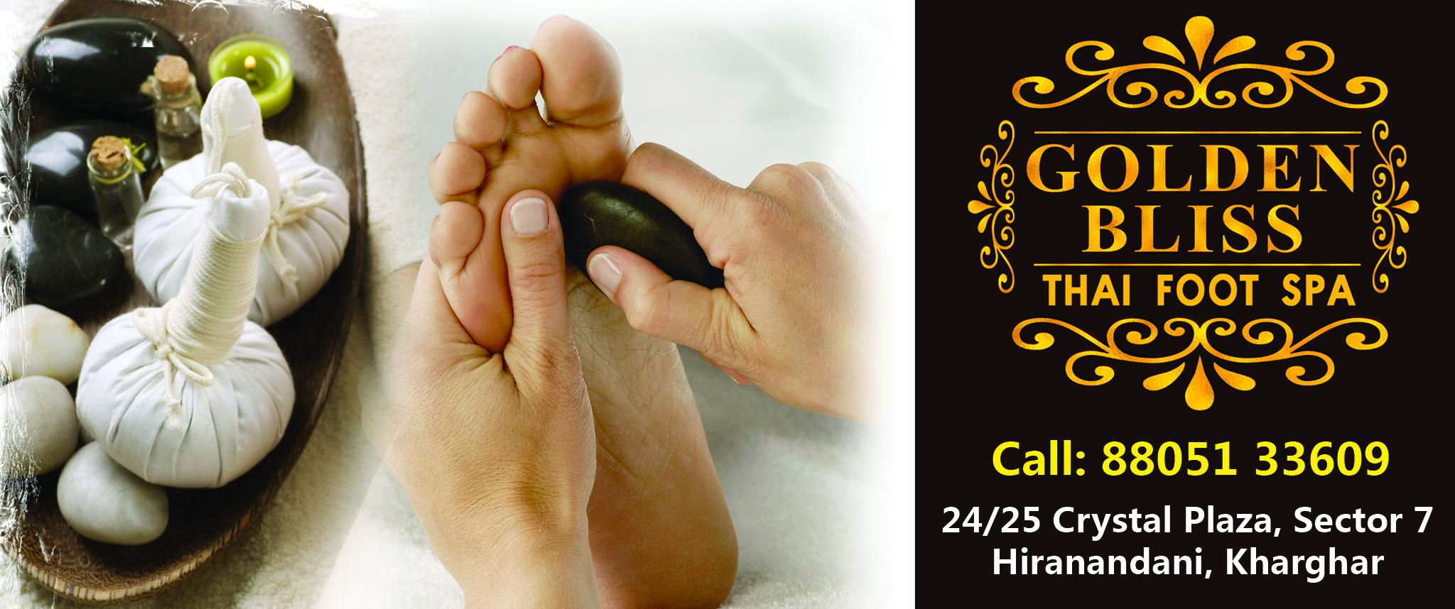Golden Bliss Foot Spa